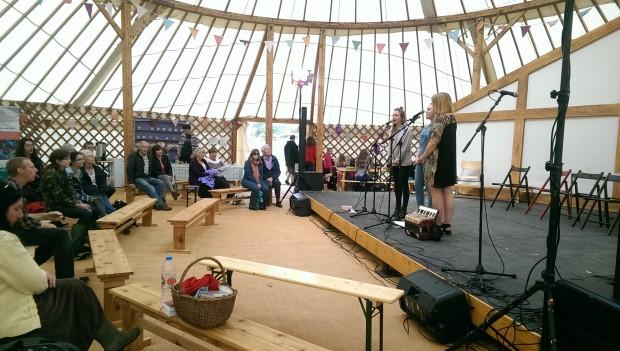 Sorela a capella band with a mellow Welsh folk music